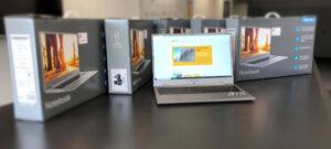 Moderne Notebooks für Corona-conforme Förderstunden